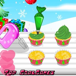 Cook Christmas Tree Cupcakes icon