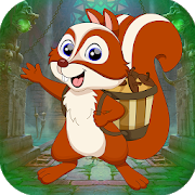 Best Game 449 Squirrel Carrying Fruit Rescue Game icon