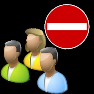 Group Blocker Lite icon