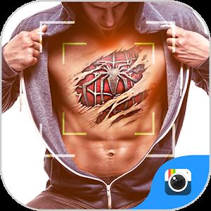 FREE-ZCAMERA 3D TATTOO STICKER icon