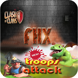 Fhx coc new troops attack free icon