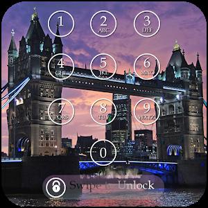 London Keypad Screen Lock icon