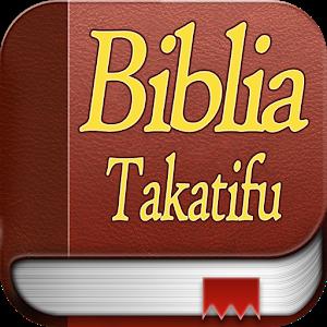 Biblia Takatifu Swahili Bible Apprecs