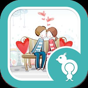 Go Locker Love Is Theme icon