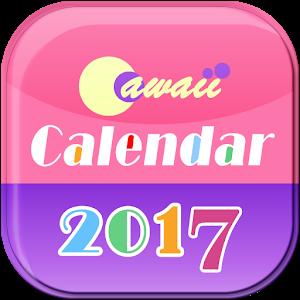 Cawaii Calendar 2019 Free! icon