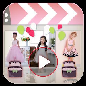Birthday Slideshow Video Maker icon