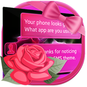 Neon Roses SMS icon