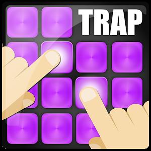 Dj trap maker sound bass pad icon