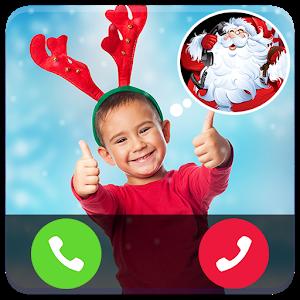 Santa Talking - fake call icon