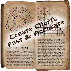 Astro Zodiac Chart (Lite) icon