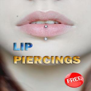 Lip Piercing designs icon