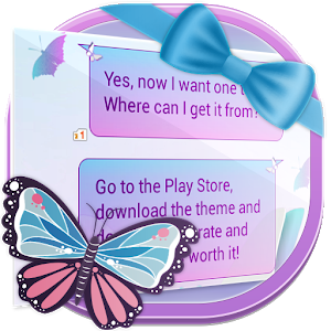 Butterfly SMS icon