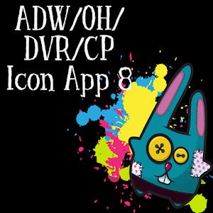 Icon App 8 ADW/OH/DVR/CP icon