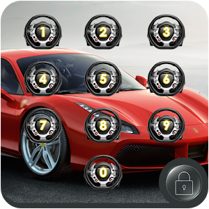 Car App Lock Theme icon
