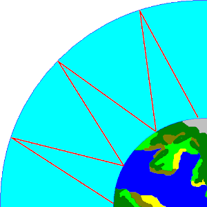 HF_MAP Sky Wave propagation icon