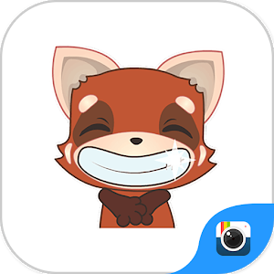 (FREE) Z CAMERA REDFOX STICKER icon