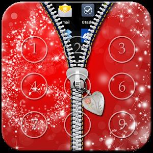 Glitter Zipper Lock icon
