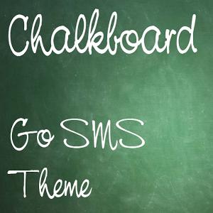 Chalkboard Go SMS Theme icon