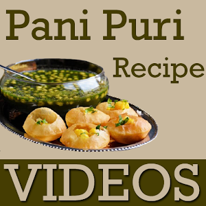 Pani Puri Recipes VIDEOs icon