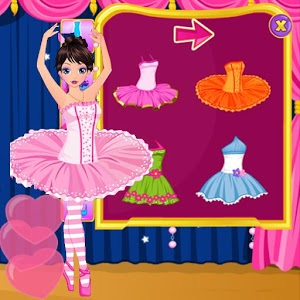 Ballet Dancer - Dress Up Game icon