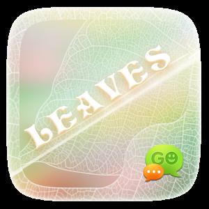 (FREE) GO SMS PRO LEAVES THEME icon