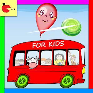 Balloon pop Games for children icon