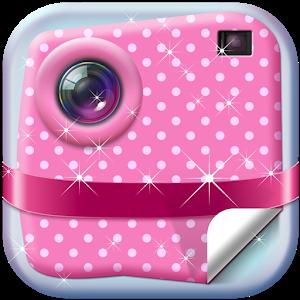 Insta Cute Girly Stickers icon
