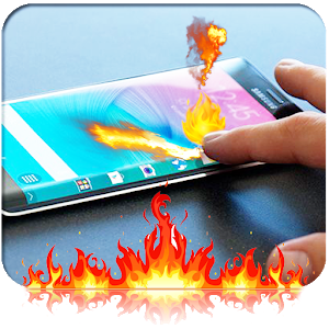 Fire Screen Touch Prank icon