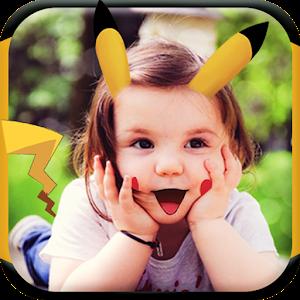 Emoji Collage Poke face icon