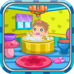 Baby shower decoration game icon