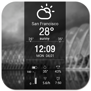 Clock Weather Fresh icon