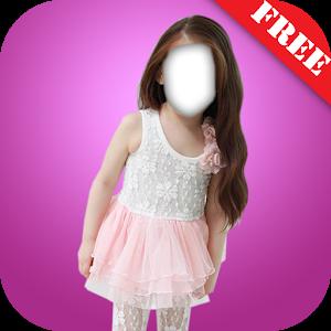 Kid Girl Fashion Photo Montage icon