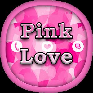 Pink Love for GO Locker icon