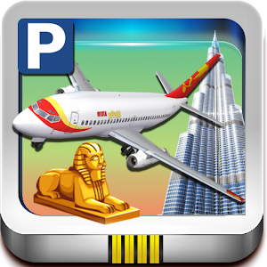 Middle East Airplane Parking icon