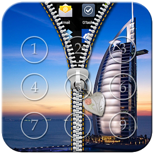 Dubai Zipper Lock icon