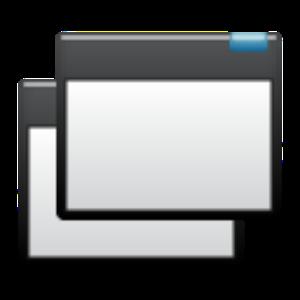 Mini tools(explorer,browser..) icon
