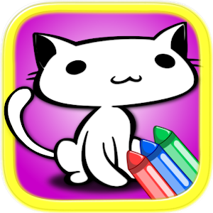 Cute Cats Coloring Book icon