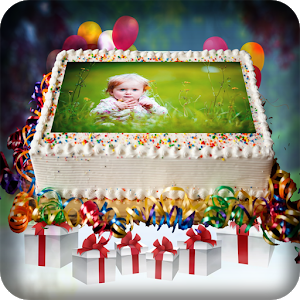 Name Photo on Birthday Cake - AppRecs