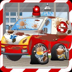 Car Wash Games -Ambulance Wash icon