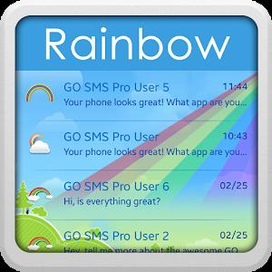 Rainbow for GO SMS icon