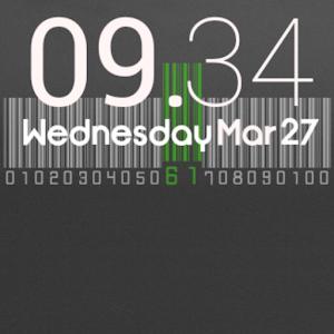 Cute Clock Free - UCCW Skin icon