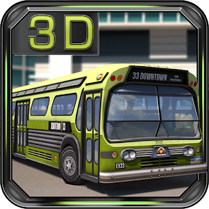 Airport 3D Bus Simulator icon