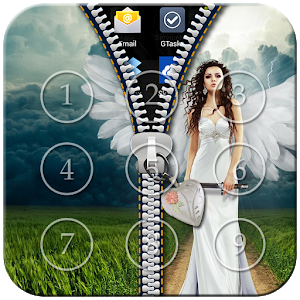 Angel Zipper Lock icon