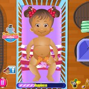 Baby Daisy Diaper Change Game icon