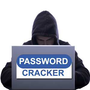 Password cracker simulator icon