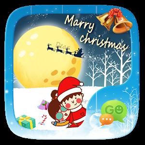 (FREE)GO SMS CHRISTMAS THEME icon