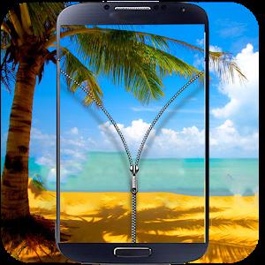 Transparent Zip Lock Screen icon