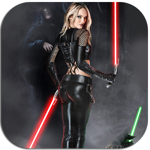 Jedi Girls Themes Lightsabers icon