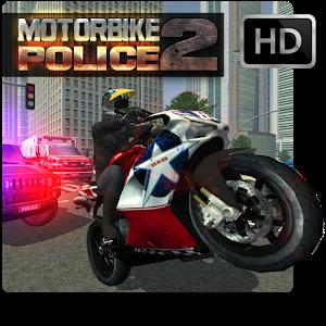 MotorBike Vs Police 2 HD icon