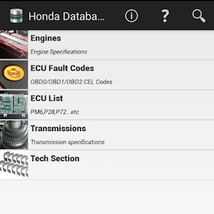 HONDAtabase icon